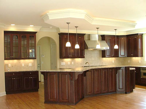 Kitchen gallery cincinnati custom home builder terry for Webs custom kitchen